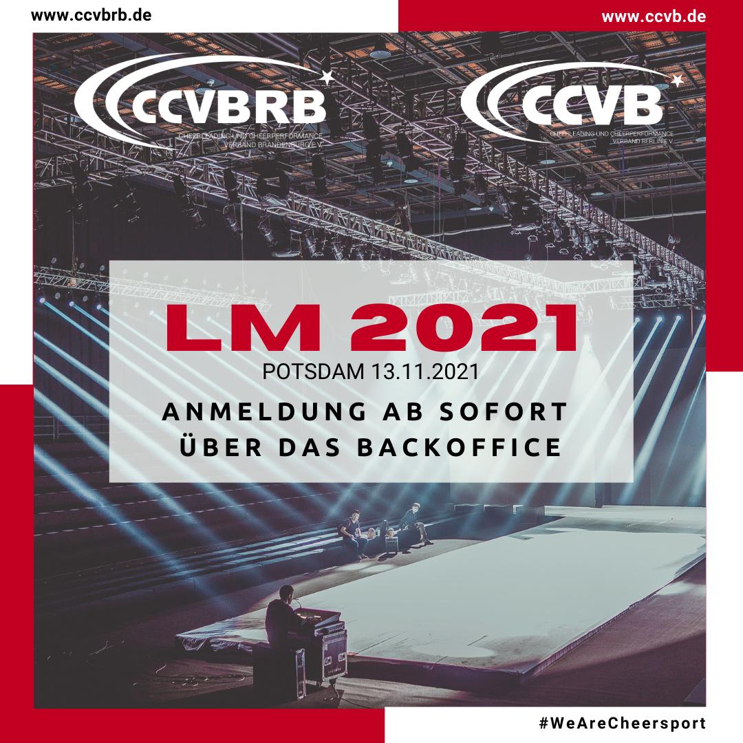LM 2021 – Anmelde Start!
