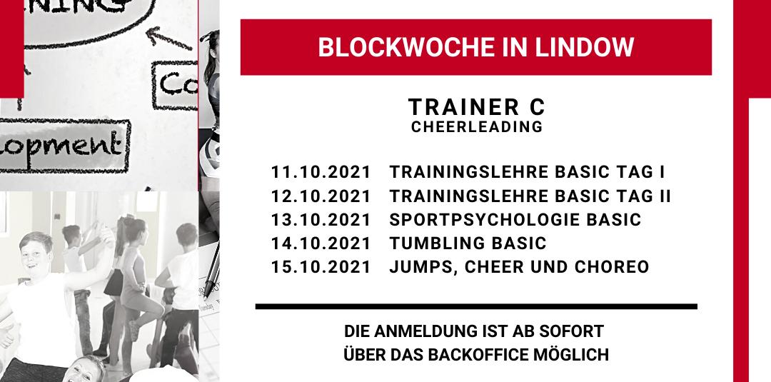 11.10.-15.10.2021 / C-Trainer Blockwoche