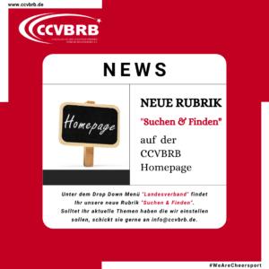 """Neue Rubrik """"Suchen & Finden"""""""