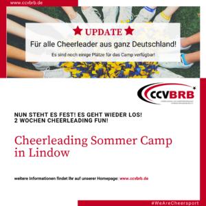 Cheerleading Sommer Camp in Lindow – 2021