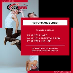 15.10.-17.10.2021 / C-Trainer Module / Performance Cheer