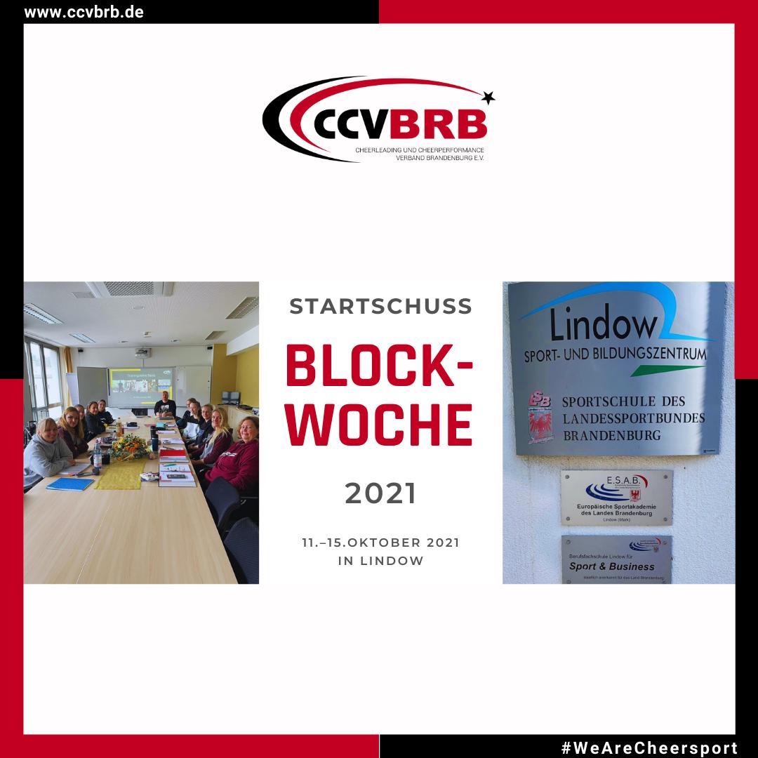 Startschuss – Blockwoche 2021
