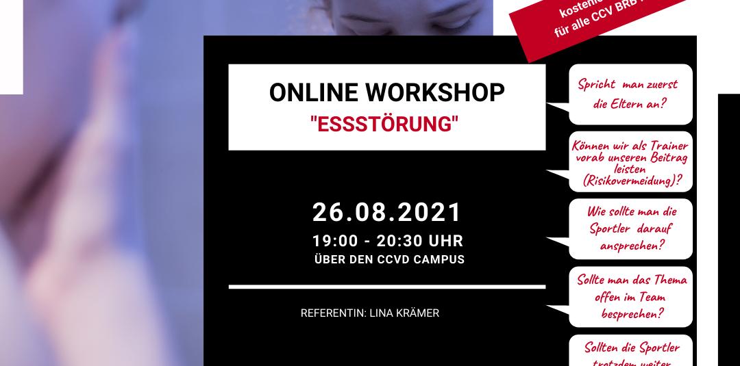 26.08.2021 – Online Workshop – Essstörung