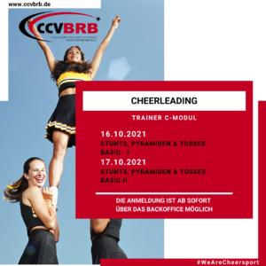 16.10.+17.10.2021 / C-Trainer Modul / Cheerleading